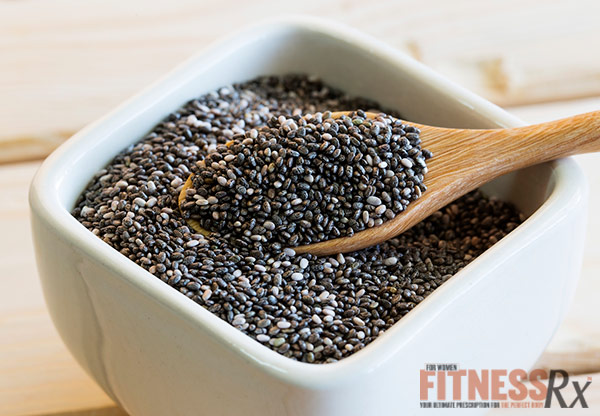8 Foods to Pump Up Your Oatmeal - Chia Seed