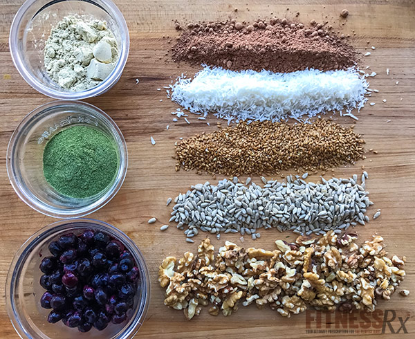 Summer Protein Balls - Healthy Treat to Combat Winter Blues