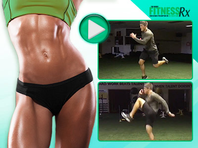 4 Moves for a Flat Stomach - At-Home Bodyweight Workout