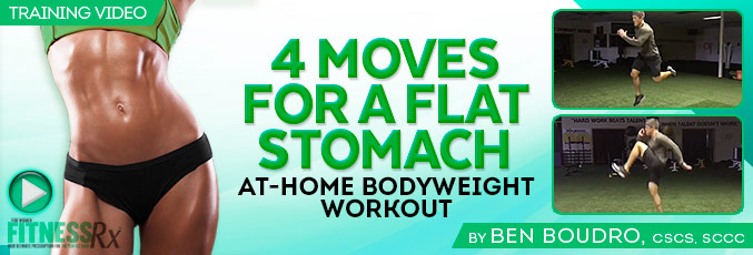4 Moves for a Flat Stomach
