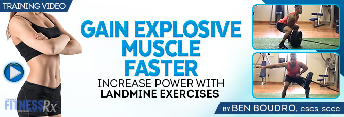 Gain Explosive Muscle Faster