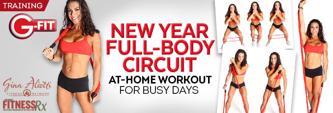 New Year Full-Body Circuit