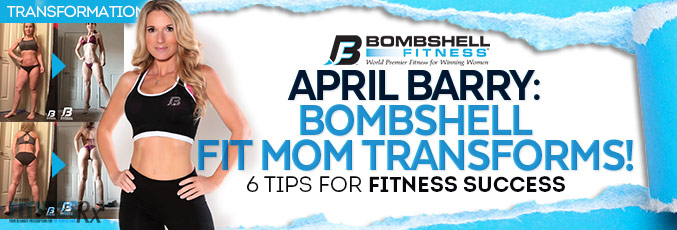 April Barry: Fit Mom of Four