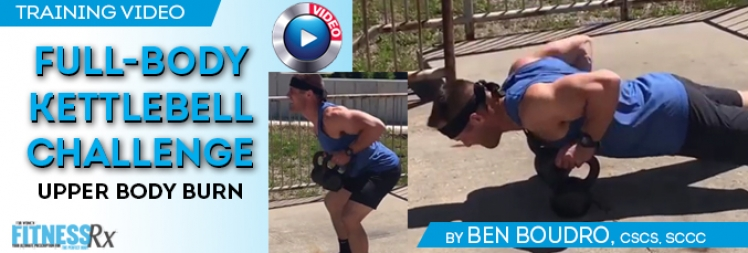 Full-Body Kettlebell Challenge