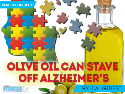 Extra Virgin OIive Oil Can Stave Off Alzheimer's