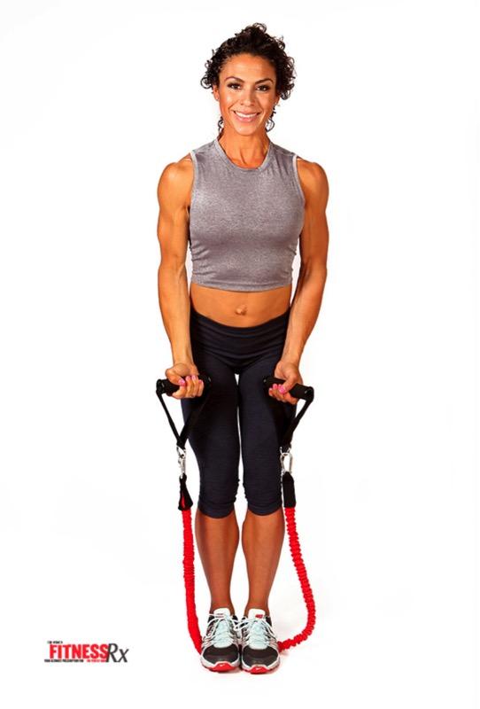 Alternating Reverse-Grip Front Raise