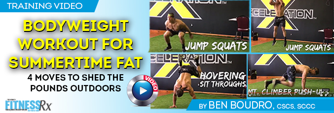 Bodyweight Workout for Summertime Fat Burn