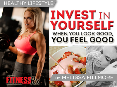 Invest in Yourself - When You Look Good, You Feel Good