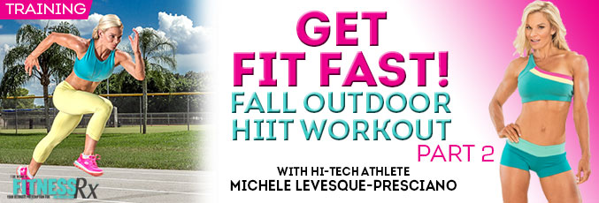 Fit Fast! Fall Outdoor HIIT Workout