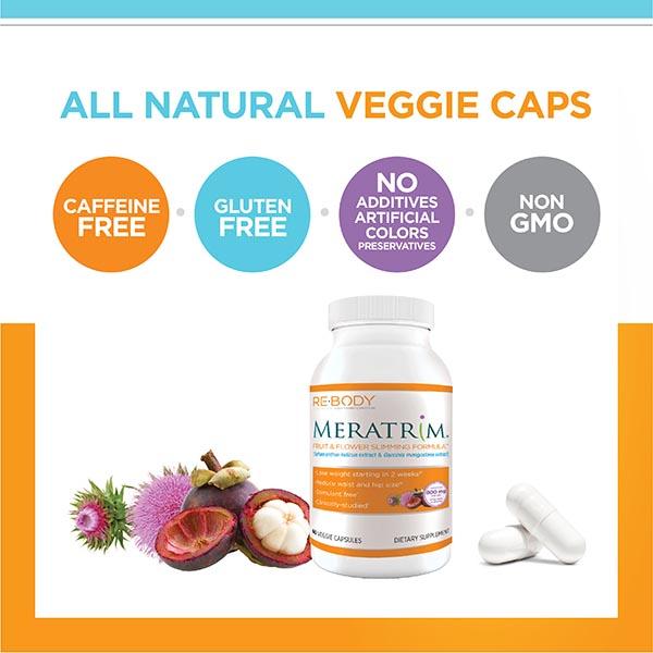 Meratrim All Natural Veggie Caps