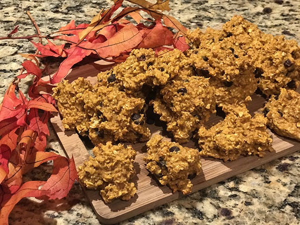 Fall Chewy Oatmeal Pumpkin Cookies - The Perfect Healthy Treat