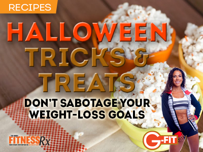 Gina Aliotti's Halloween Tricks and Treats - Don't Sabotage Your Weight-Loss Goals