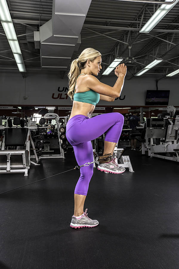 Michele Levesque-Presciano's Leg and Glute Blast Workout