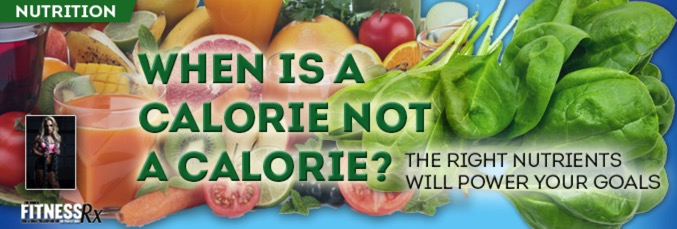 When Is a Calorie Not a Calorie?