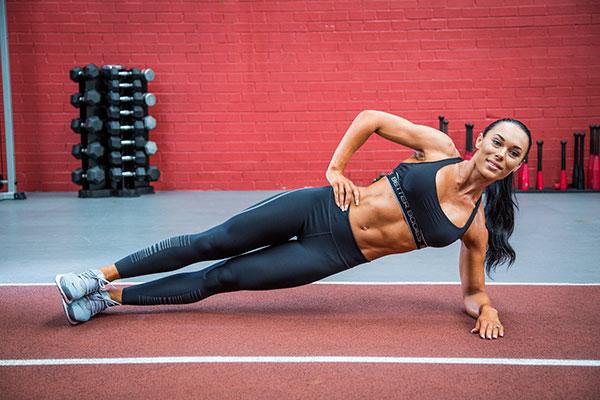 Shannah Baker - Side Plank