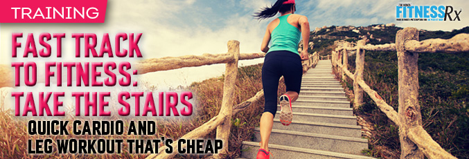 Fast Track to Fitness: Take the Stairs