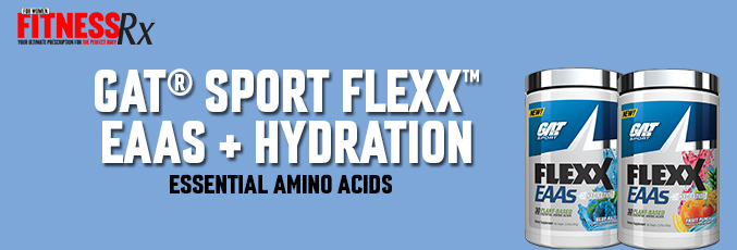 NEW! GAT® SPORT FLEXX™ EAAs + HYDRATION