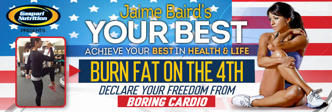 Burn Fat On The 4th