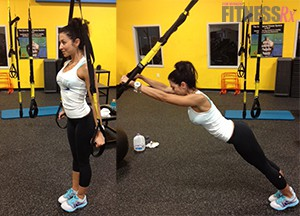 TRX STANDING ROLLOUT/EXTENDED PLANKS