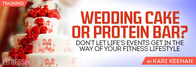 Wedding Cake or Protein Bar?