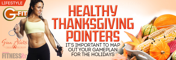 Healthy Thanksgiving Pointers