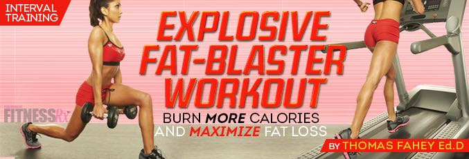 Explosive Fat-Blaster Workout