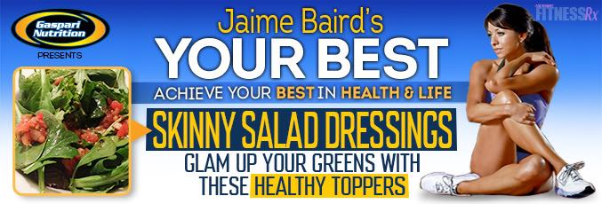 Simple Skinny Salad Dressings