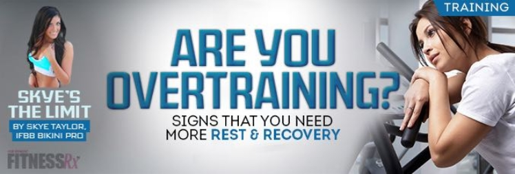 Signs that you need more rest & recovery