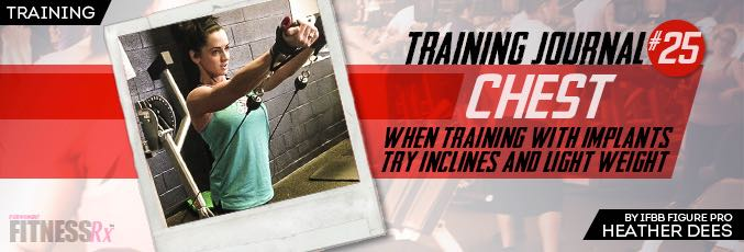Training Journal #25: Chest Training