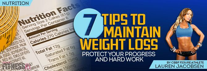 7 Tips to Maintain Weight Loss