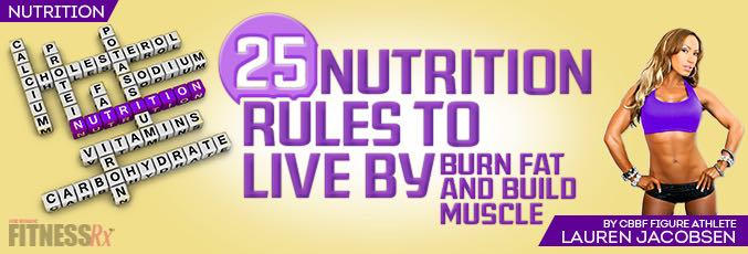 25 Nutrition Rules to Live By