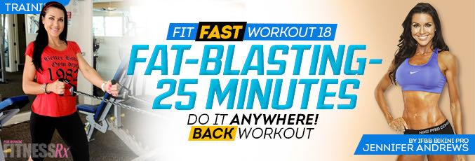 Fit Fast Back-Toning Workout