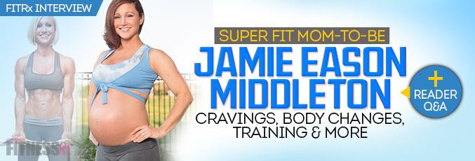 Superfit Mom-to-Be Jamie Eason Middleton