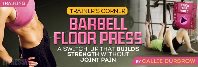 The Barbell Floor Press