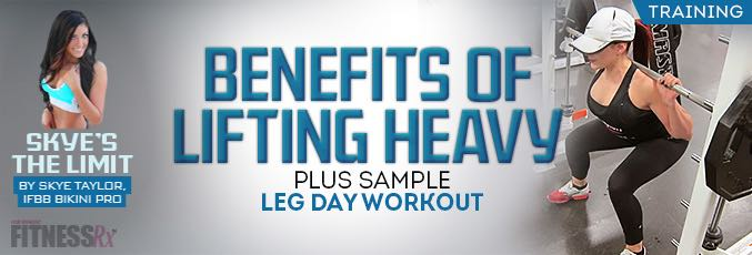 Benefits of Lifting Heavy