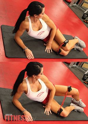 Fit Fast Booty Blast - A 30-minute butt-shaping workout! - Side Lying Abductor