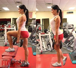 Fit Fast Booty Blast - A 30-minute butt-shaping workout! Step-ups