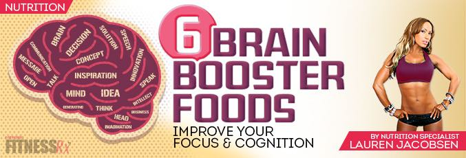 6 Brain Booster Foods