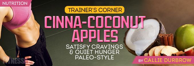 Cinna-Coconut Apples