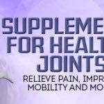 Supplements for Healthy Joints