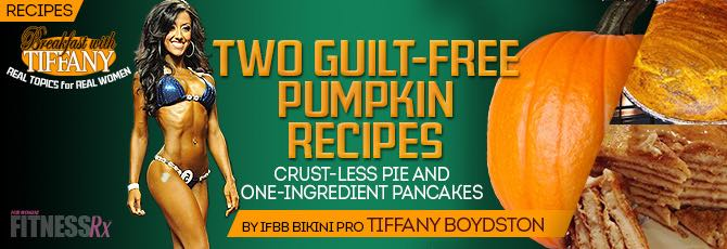 Two Guilt-Free Pumpkin Recipes