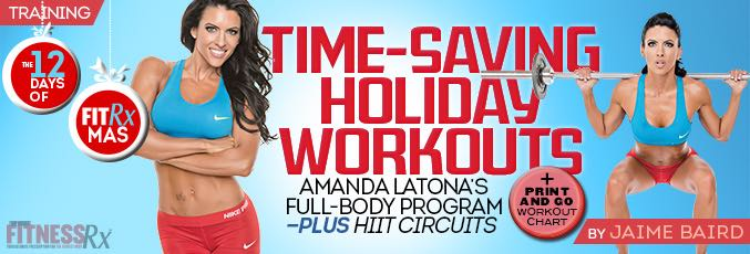 Timesaving Holiday Workouts