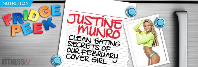 Fridge Peek: Justine Munro