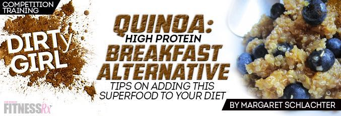 Quinoa: High Protein Breakfast Alternative
