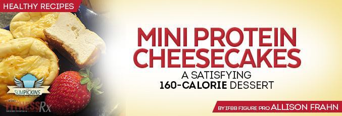 Mini Protein Cheesecakes