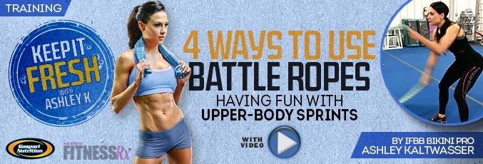 4 Ways To Use Battle Ropes