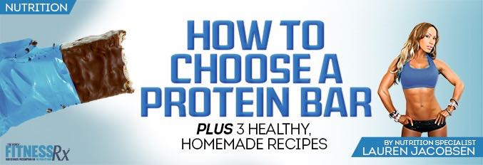 How to Choose A Protein Bar