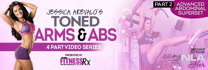 Toned Arms & Abs Video 2