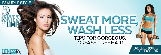 Sweat More, Wash Less