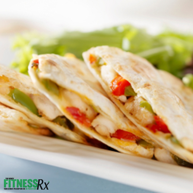 Slim Pickinized Chicken Quesadilla | Healthy Versions Of Comfort Food Recipes For Guilt-Free Cravings